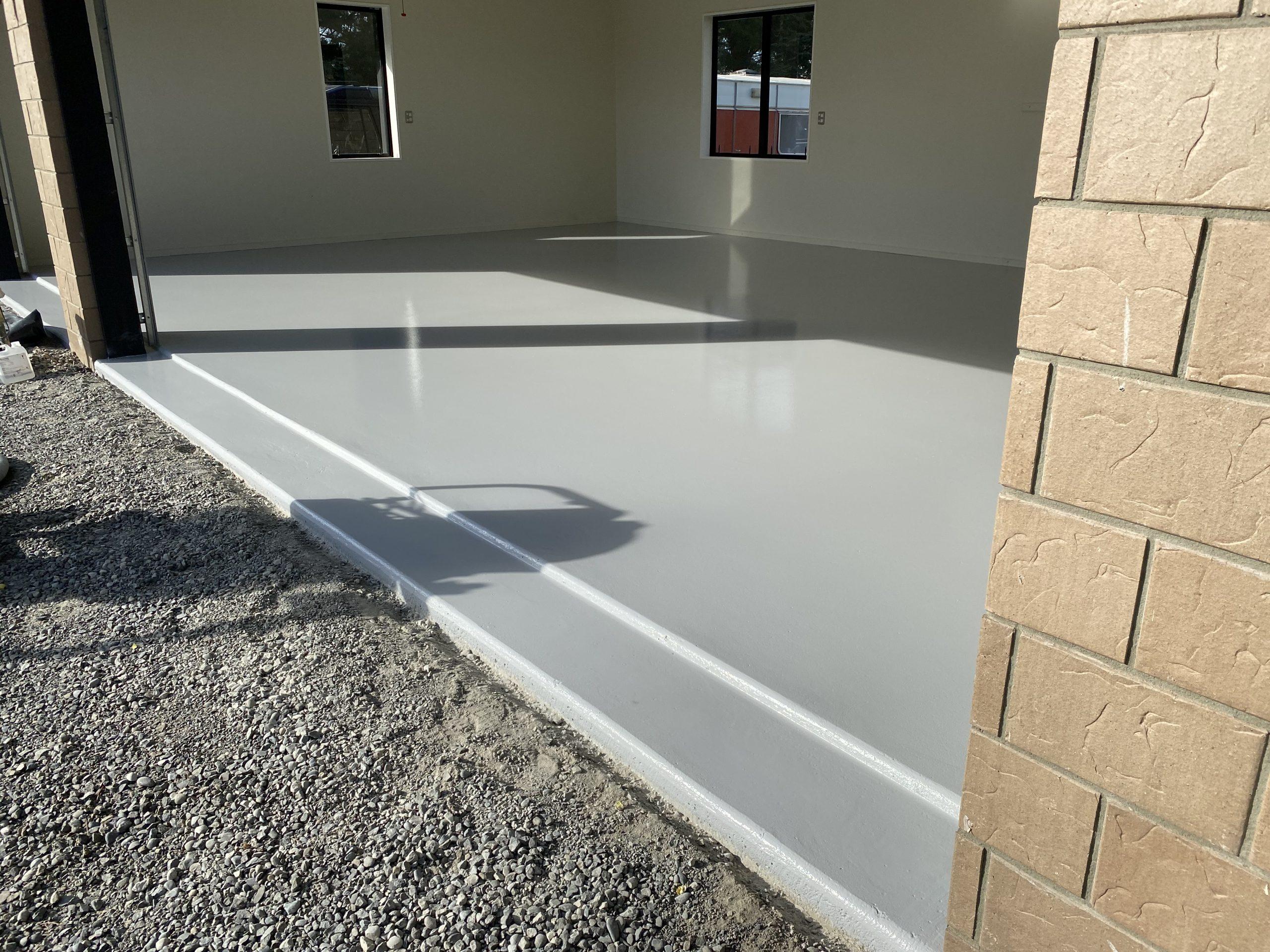 Garage Floor Painting